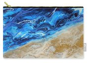 Contemporary Abstract Beach Nacl Carry-all Pouch