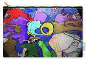 Contemporary Art - Abstract In The Round  Carry-all Pouch