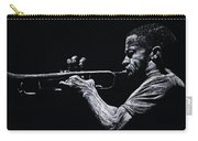 Contemporary Jazz Trumpeter Carry-all Pouch by Richard Young