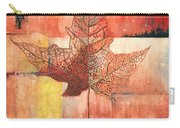 Contemporary Leaf 2 Carry-all Pouch
