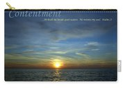 Contentment Carry-all Pouch