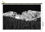 Continental Divide - Indian Peaks - Poster Carry-all Pouch