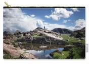 Continental Divide Above Twin Lakes 2 - Weminuche Wilderness Carry-all Pouch