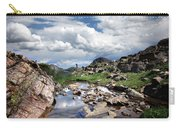 Continental Divide Above Twin Lakes 3 - Weminuche Wilderness Carry-all Pouch