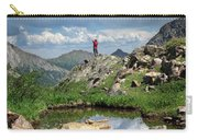 Continental Divide Above Twin Lakes 4 - Weminuche Wilderness Carry-all Pouch