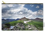 Continental Divide Above Twin Lakes 6 - Weminuche Wilderness Carry-all Pouch