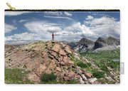 Continental Divide Above Twin Lakes - Weminuche Wilderness Carry-all Pouch