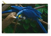 Contorted Parrots Carry-all Pouch