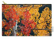 Contrasting Aspen Carry-all Pouch