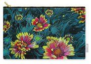 Contrasting Colors Digital Art Carry-all Pouch