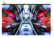 Convergence Abstract Carry-all Pouch by Alexander Butler