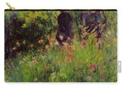 Conversation In A Rose Garden 1876 Carry-all Pouch