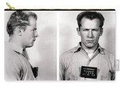 Convict No. 1428 - Whitey Bulger - Alcatraz 1959 Carry-all Pouch