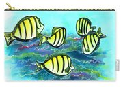 Convict Tang Fish #209 Carry-all Pouch