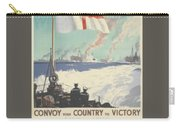 Convoy Your Country To Victory Carry-all Pouch