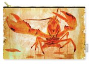 Cooked Lobster On Parchment Paper Carry-all Pouch