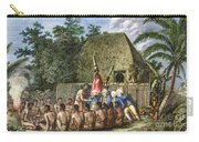 Cook:sandwich Islands 1779 Carry-all Pouch