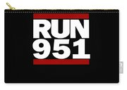 951 Design Run California Gifts 951 Shirt Carry-all Pouch
