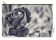 Cool Black Rose Carry-all Pouch