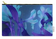 Cool Blue Lilies Carry-all Pouch