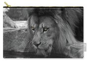Cool Drink Of Water  Black And White  T O C Carry-all Pouch