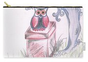 Cool Owl Carry-all Pouch