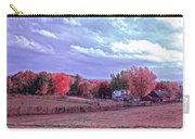 Cool Sunset Autumn Farm Carry-all Pouch