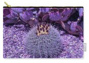 Cool Sunset Budding Cactus Carry-all Pouch