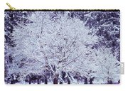 Cool Sunset Essence Of Winter Carry-all Pouch