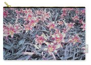 Cool Sunset Field Of Tiger Lillies Carry-all Pouch