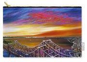 Cooper River Bridge Carry-all Pouch by James Christopher Hill