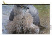 Cooper's Hawk In Stream Carry-all Pouch