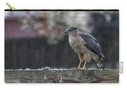 Cooper's Hawk In The Rain Carry-all Pouch