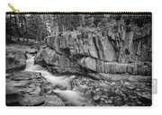 Coos Canyon Black And White Carry-all Pouch