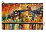 Copenhagen Original Oil Painting  Carry-all Pouch
