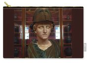 Copper Bust In Rome Carry-all Pouch