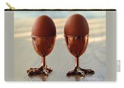 Copper Chicken Feet Egg Cups Carry-all Pouch