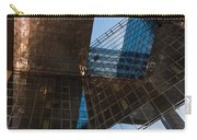 Copper Glass And Steel Geometry - Fabulous Modern Architecture In London U K Carry-all Pouch