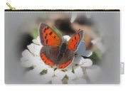 Copper Glow - Butterfly Carry-all Pouch