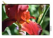 Copper Iris Squared 1 Carry-all Pouch