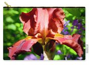 Copper Iris Squared 5 Carry-all Pouch