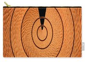 Copper Panel Abstract Carry-all Pouch
