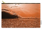 Copper Plate Sunrise Carry-all Pouch