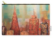 Copper Points, Cityscape Painting Carry-all Pouch