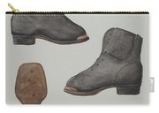 Copper-toed Child's Shoe Carry-all Pouch