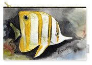 Copperband Butterflyfish  Carry-all Pouch