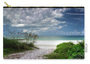 Coquina Beach-bradenton Florida Carry-all Pouch