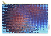 Coral Abstract Carry-all Pouch