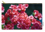 Coral Azaleas Carry-all Pouch