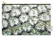Coral Close Up  Carry-all Pouch by Lanjee Chee